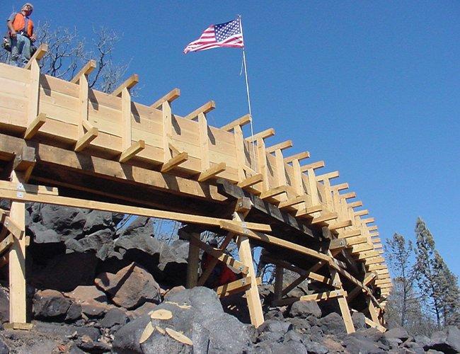 Flume 10 Rebuild - September 20, 2007