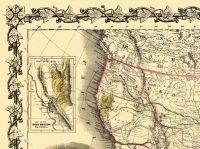 1.4 - Map of Gold Region in CA 1849